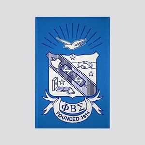 Phi Beta Sigma Crest Rectangle Magnet